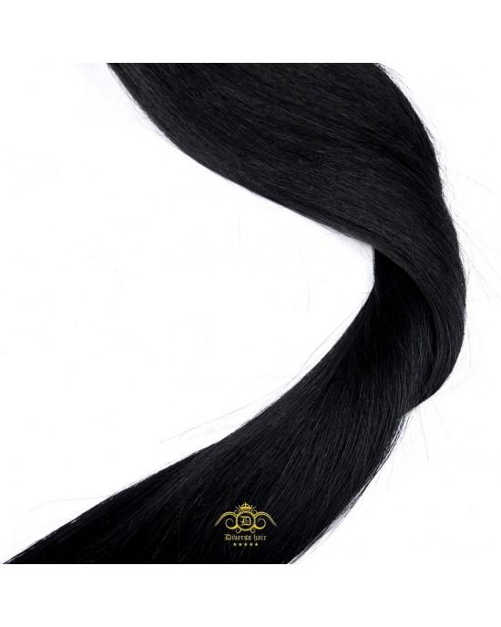 """20"""" Hair - Jet Black #01"""