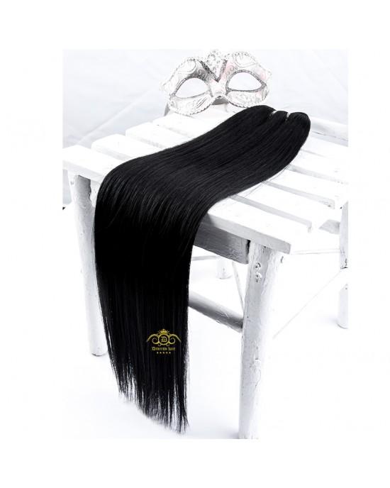 """24"""" Hair - Jet Black #01"""