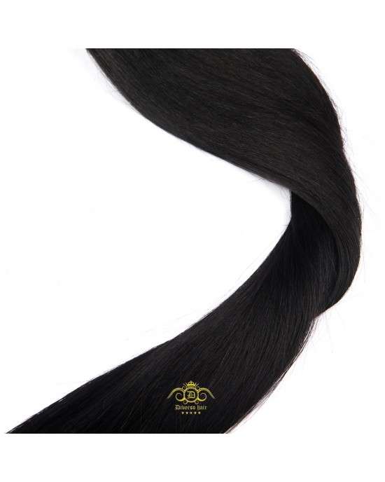 "24"" Hair - Black/Brown #1b"