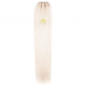 8A Straight weft Platinum Blonde #60