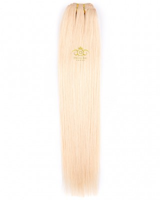 8A Straight weft Lightest blonde #613