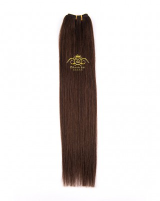 8A Straight weft Chocolate brown #04