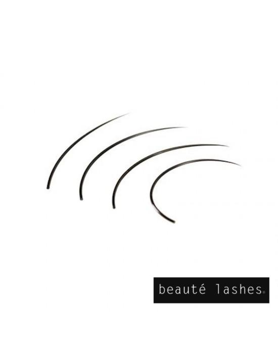 Satin individual eyelashes extensions