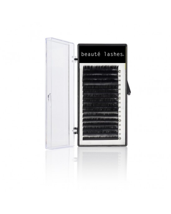 Satin individual eyelashes extensions