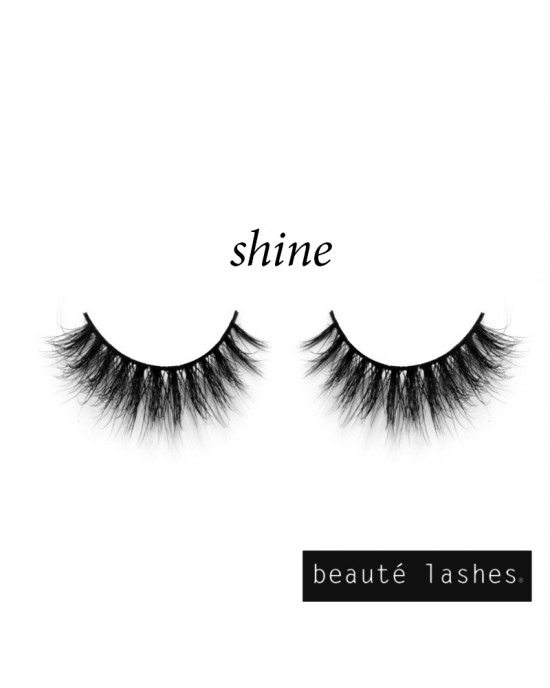 3D Mink Lashes shine