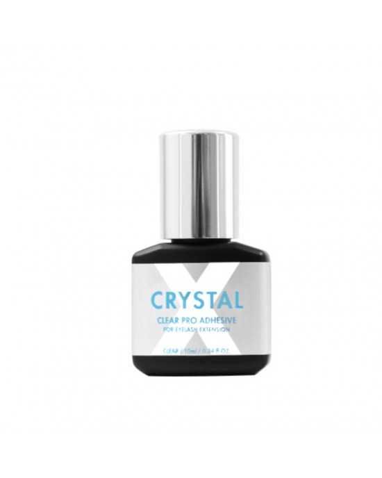 Crystal X adhesive for strip lashes