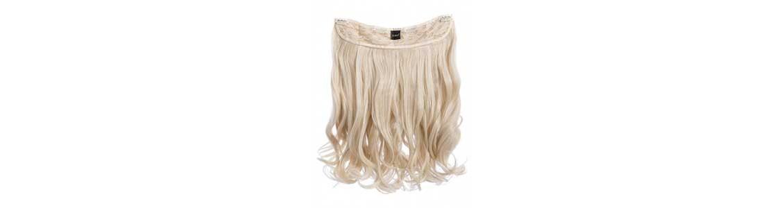 Clip-in Hair Silver 6A