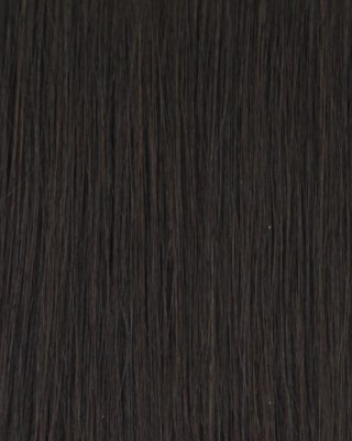 Clip-in hair - Natural Black #1b