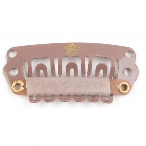 Light brown Clips 28mm