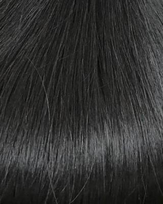 Remy Double drawn 8A - Natural black #1b