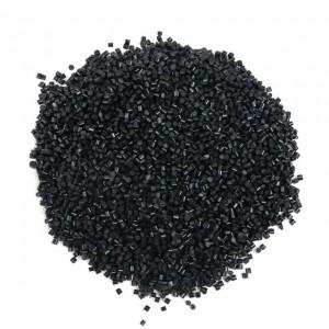 Italian keratin granule grain bead black