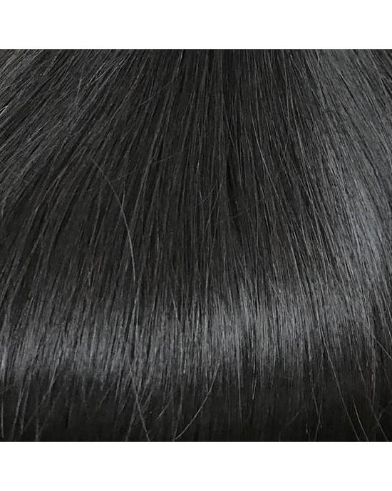 Micоring hair extensions #1b