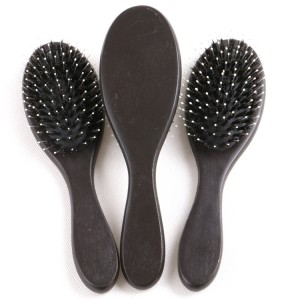 Hair Extension Wood Hairbrush