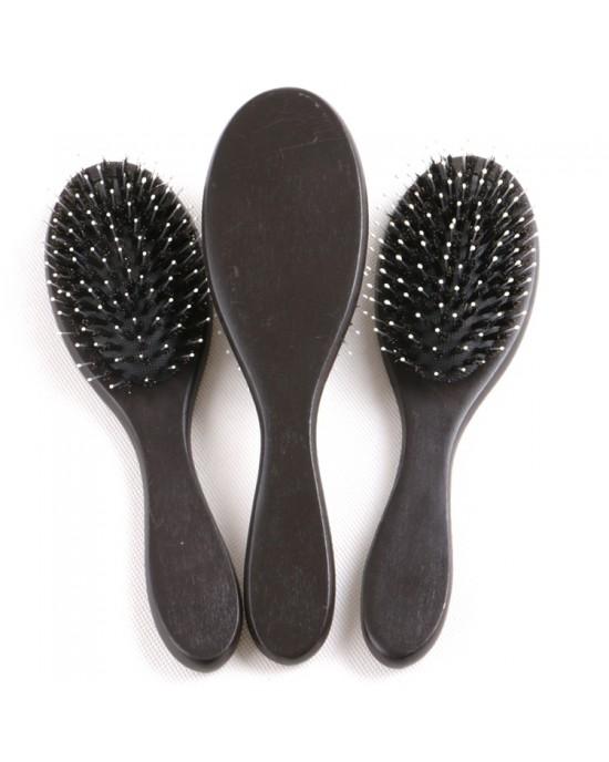 Hair Extension Wood Hairbrush